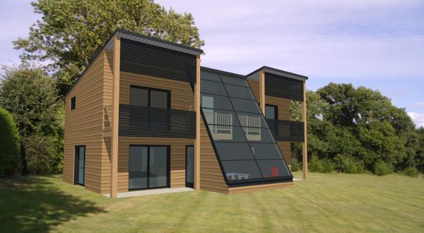 Maison moderne bois - Maisons contemporaines en bois ...