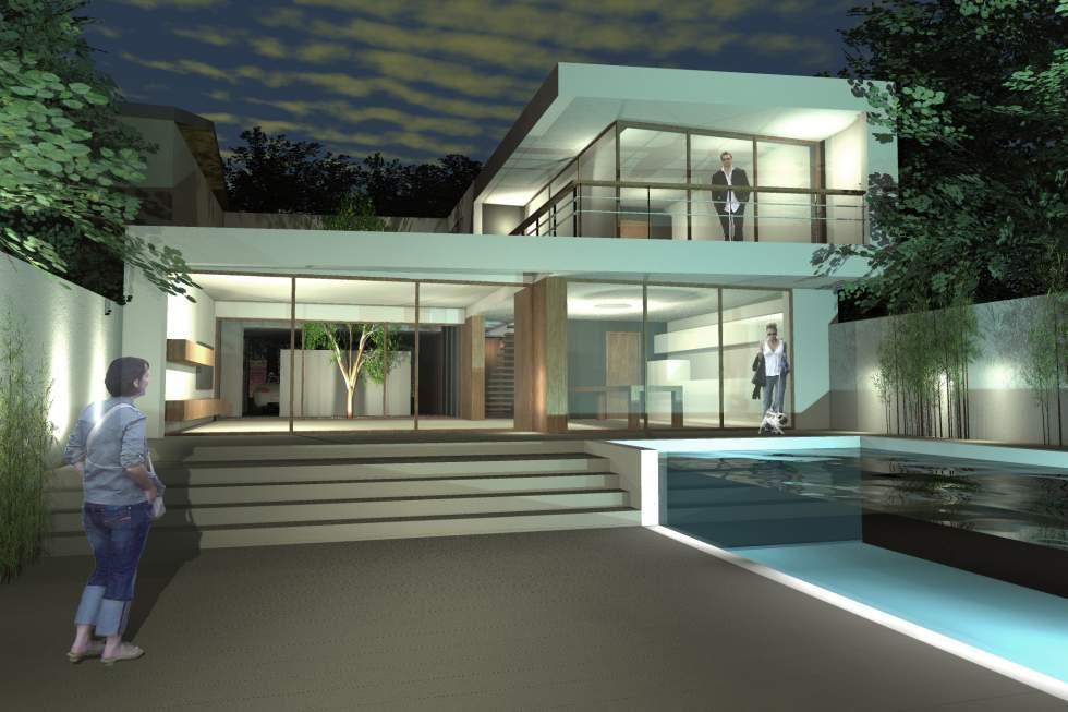 Maison moderne bordeaux - Architecte toulouse maison contemporaine ...