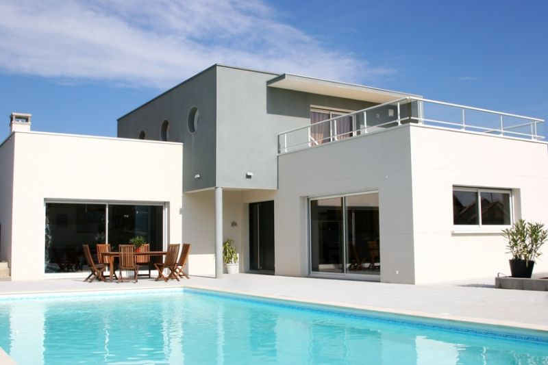 Interesting Maison Moderne Vaucluse Contemporary - Best Image Engine ...
