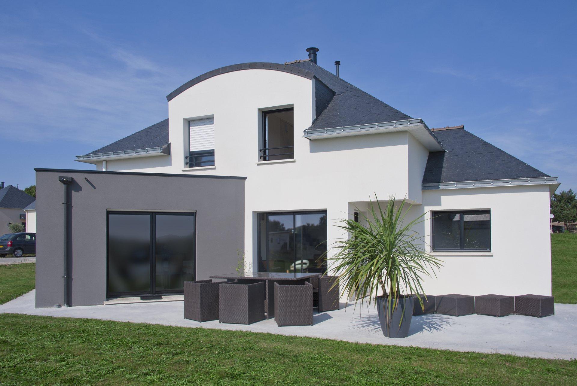 maison moderne bretagne
