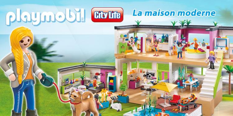 maison moderne city life playmobil amazon