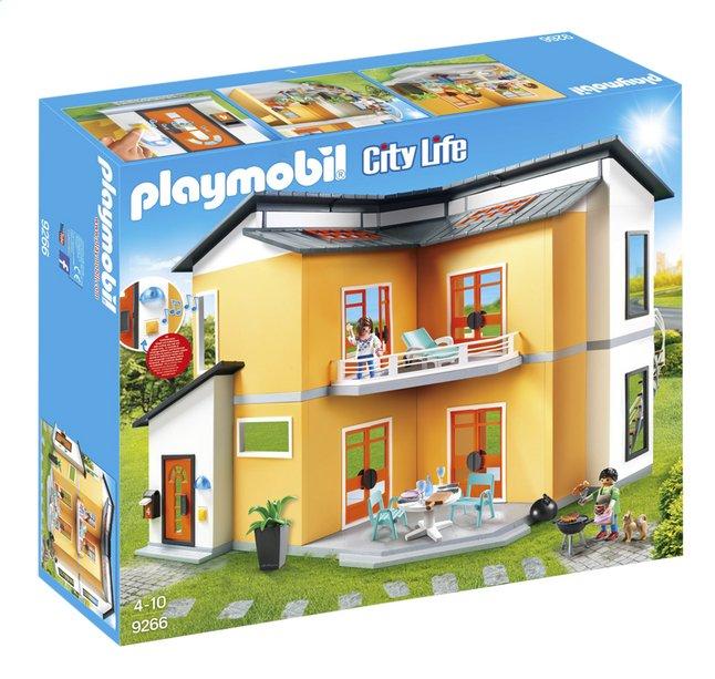 maison moderne city life playmobil