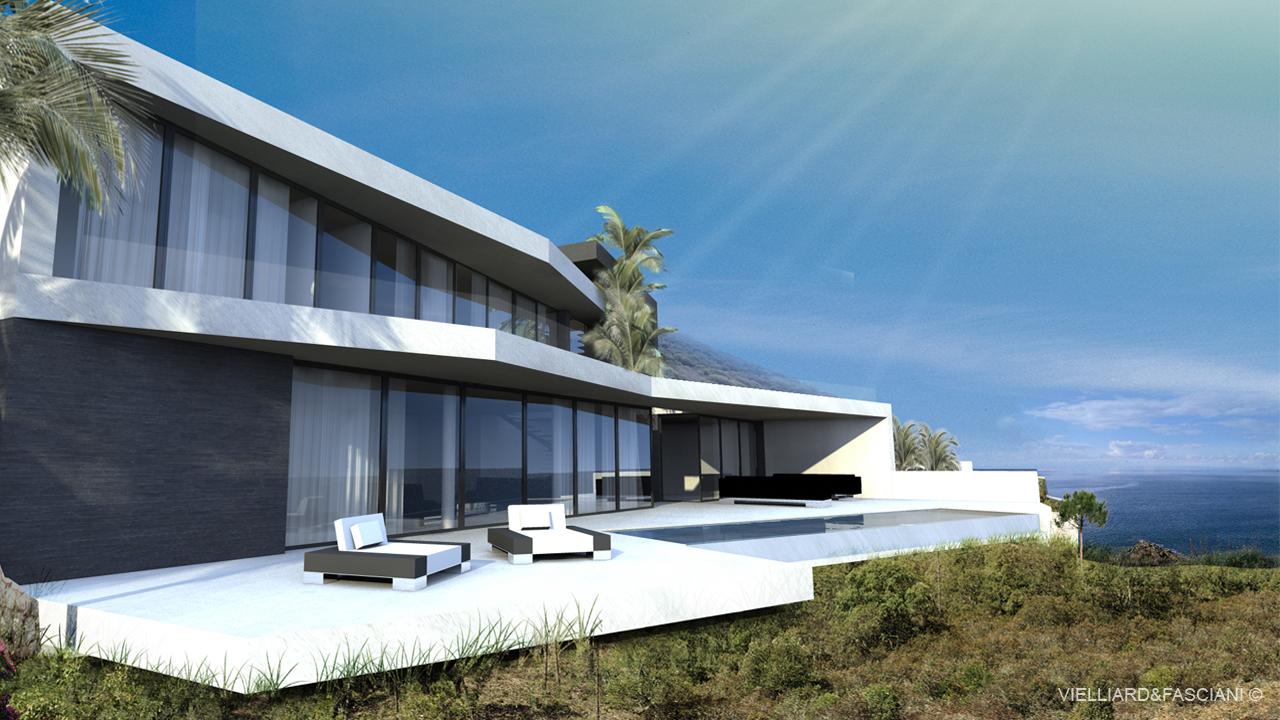 maison moderne cote d\'azur