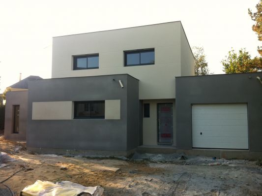 Maison moderne couleur - Couleur maison moderne ...
