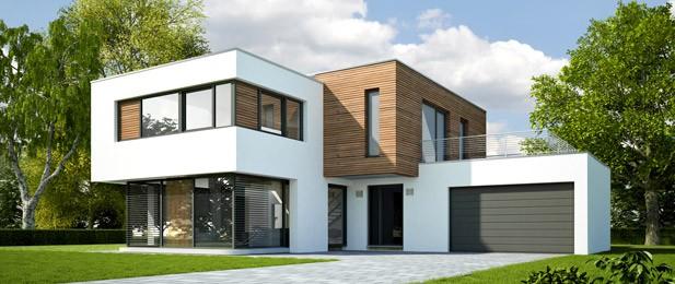 maison moderne cube