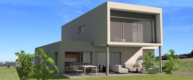 Maison moderne cube for Concevez vos propres plans de maison gratuitement