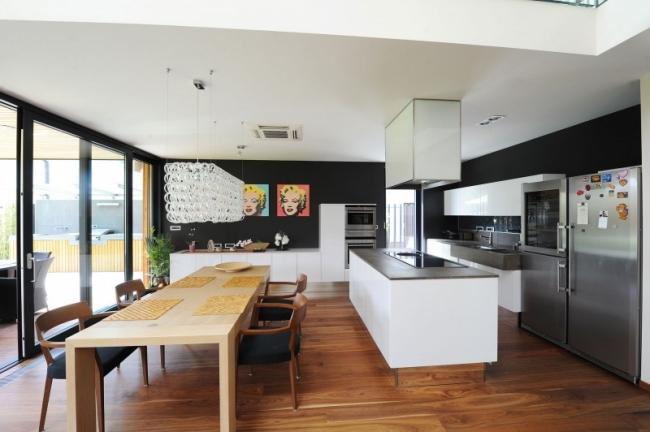 maison moderne cuisine