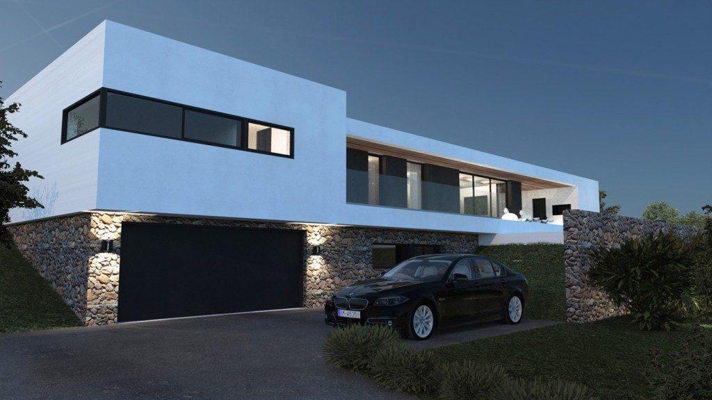 maison moderne d\'architecte
