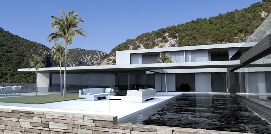 maison moderne d'architecte