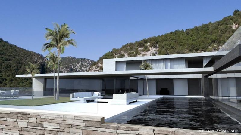 maison moderne d'exception