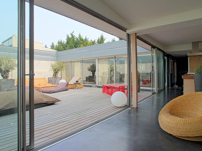 Maison moderne d 39 exception - Maison atypique nantes ...