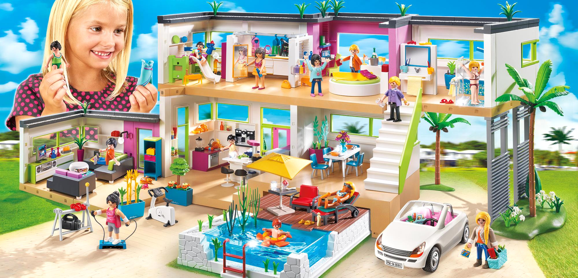 Maison Moderne De Playmobil