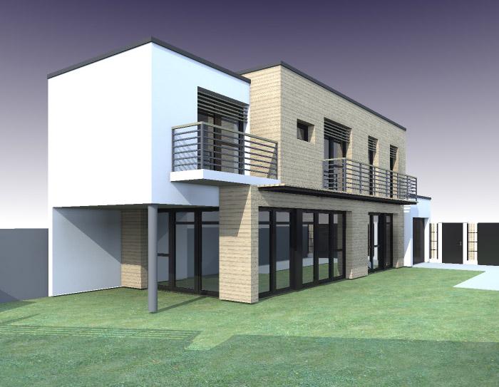 maison moderne definition