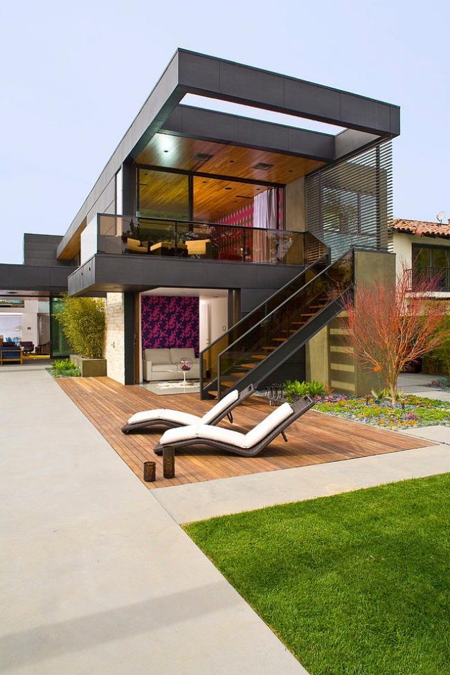 maison moderne deux etages