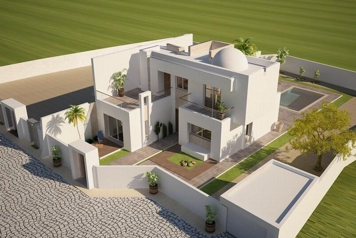 maison moderne djerba