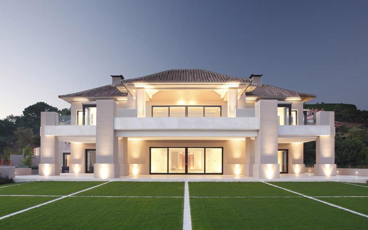 Maison moderne dubai - Maison contemporaine de luxe ...