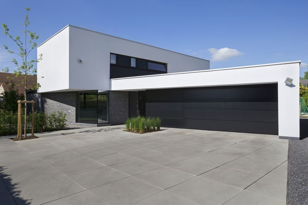 maison moderne epuree