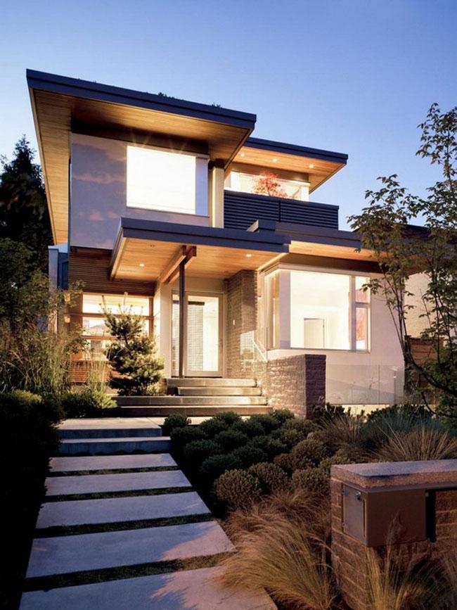 maison moderne exterieur