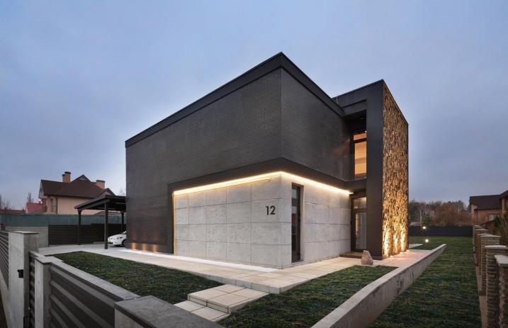 maison moderne facade