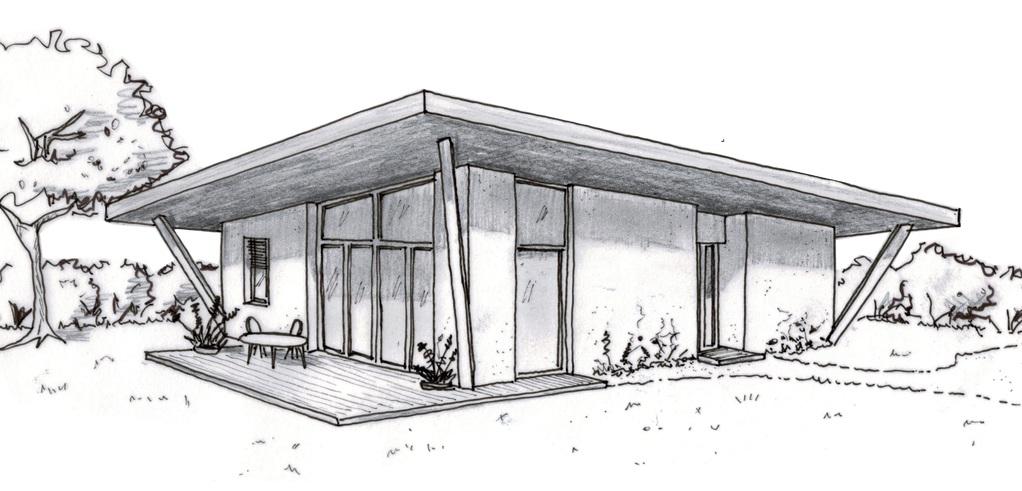 maison moderne facile a dessiner