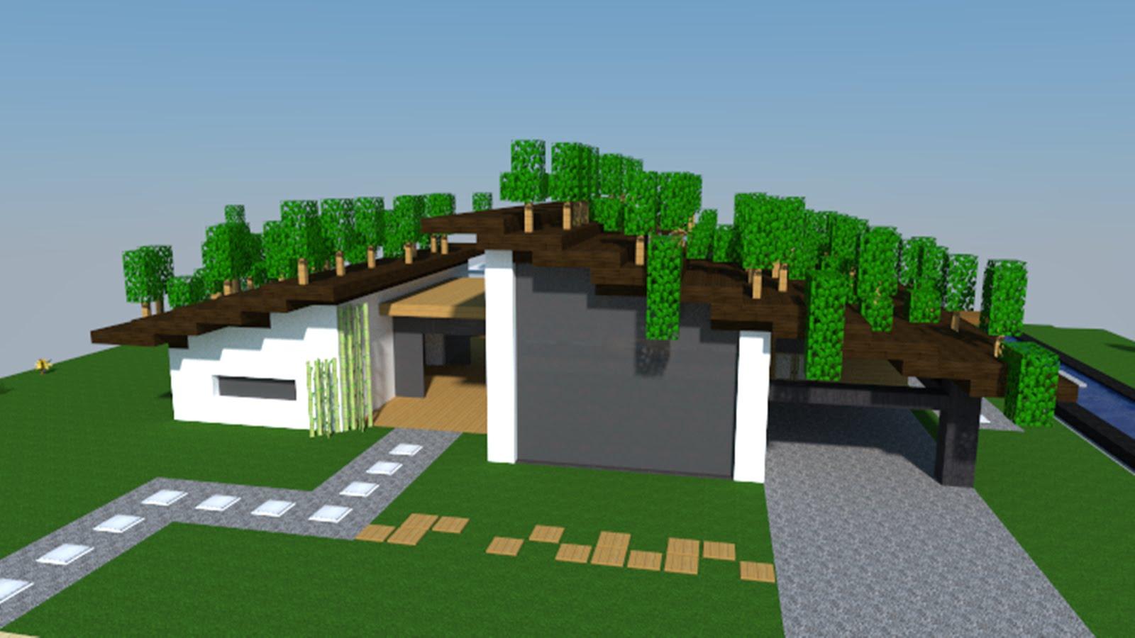 maison moderne facile