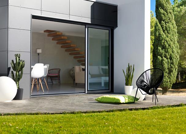maison moderne fenetre