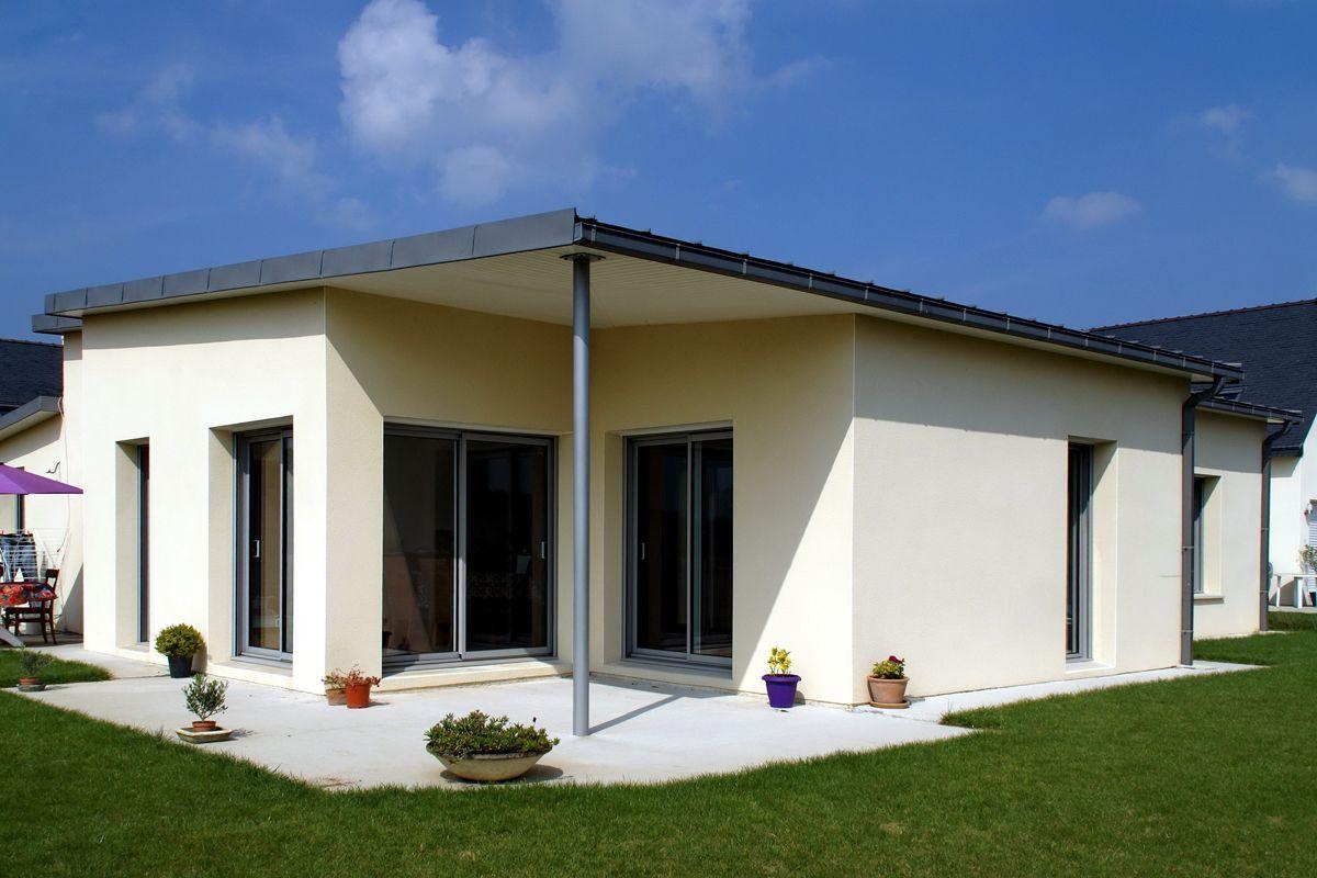maison moderne finistere