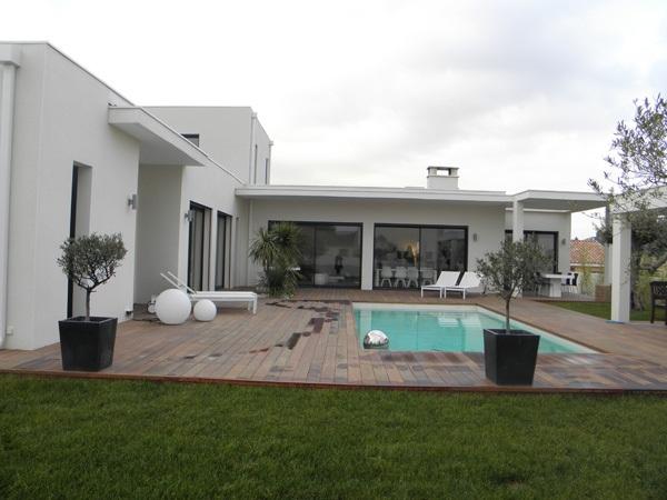 maison moderne gard
