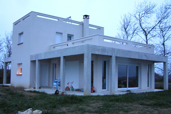 maison moderne gers
