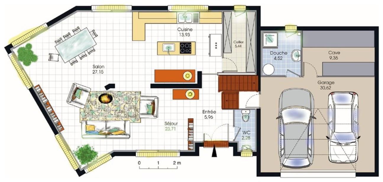 maison moderne gratuit. Black Bedroom Furniture Sets. Home Design Ideas