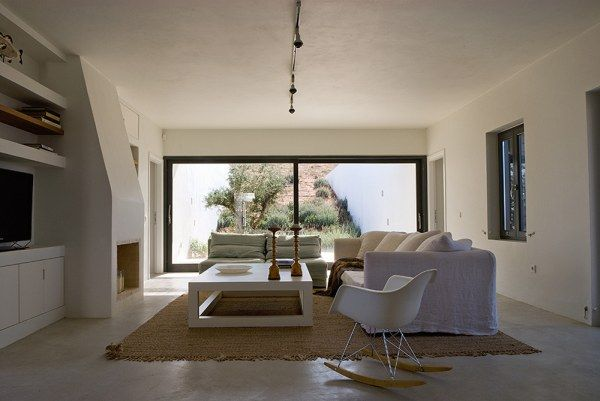 maison moderne grece