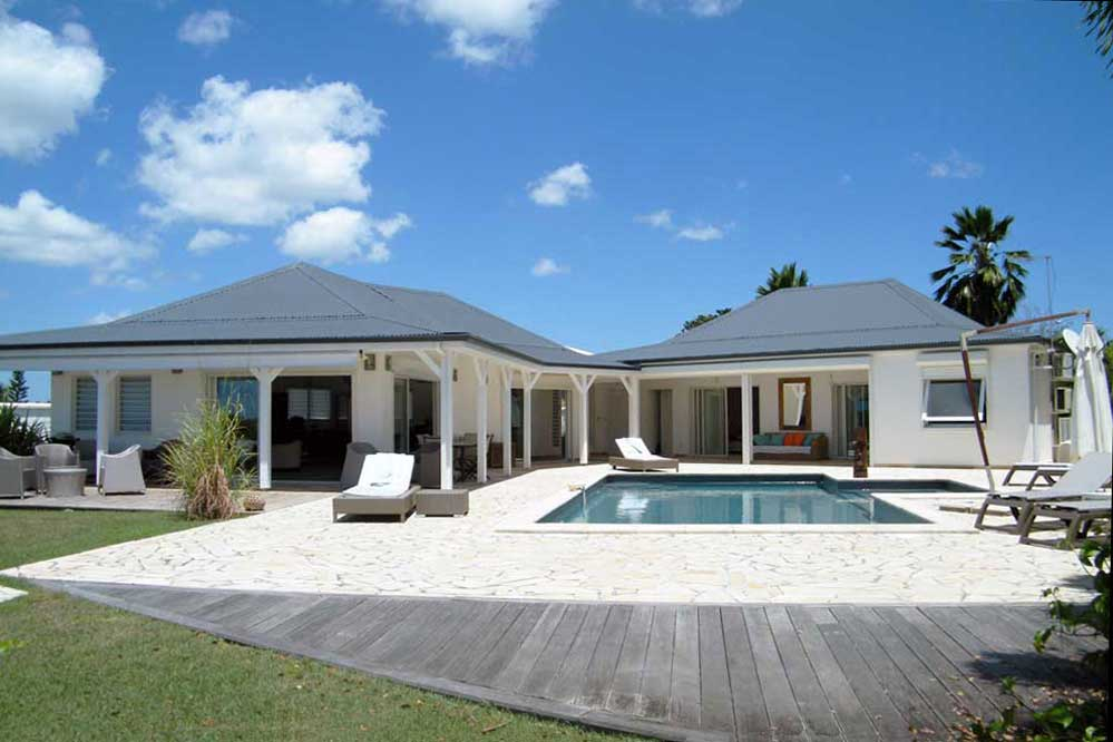 Maison moderne guadeloupe - Style de maison moderne plain pied ...