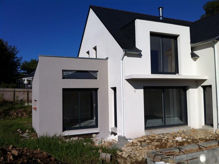 maison moderne guidel