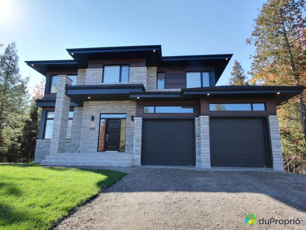 Maison moderne haut de gamme a vendre for Construction maison neuve montreal