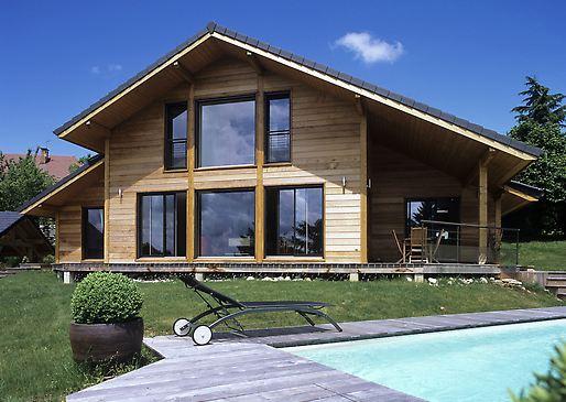 maison moderne haute savoie
