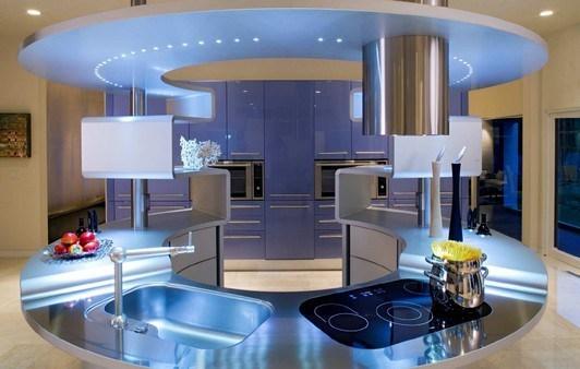 Maison moderne high tech - Domotique cuisine ...