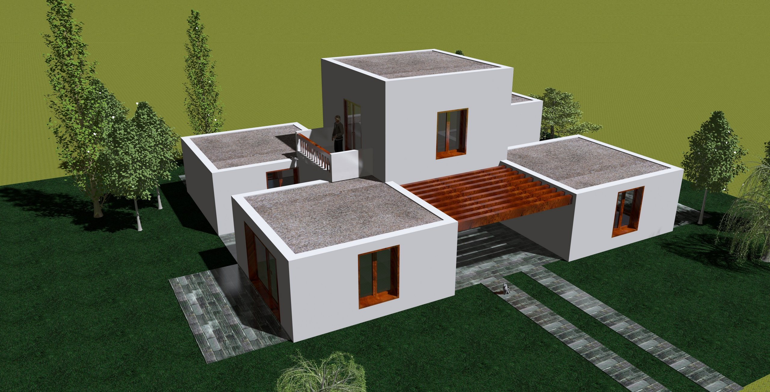 maison moderne home sweet home