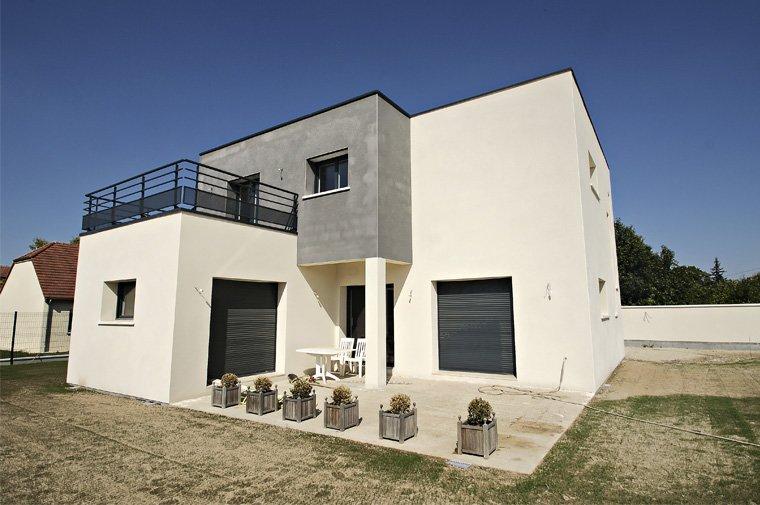 maison moderne idf