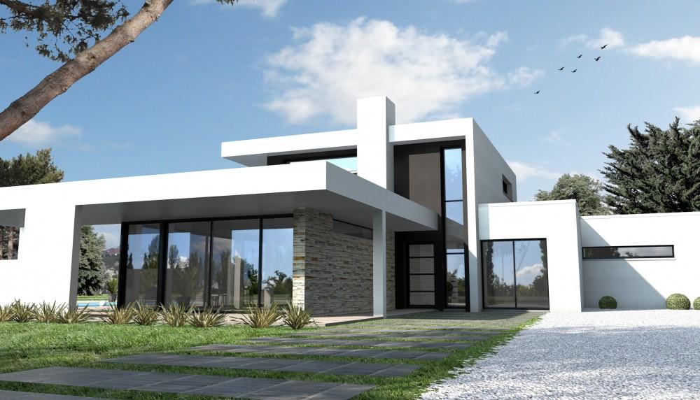 maison moderne individuelle