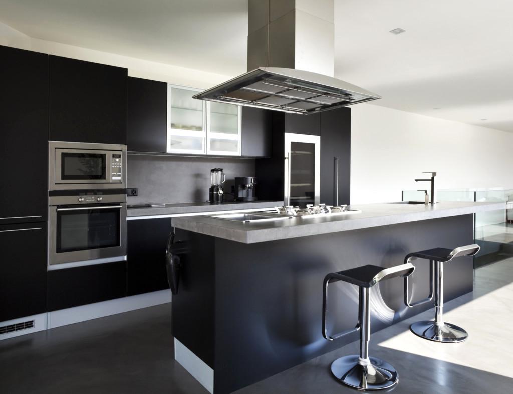 Maison moderne interieur cuisine - Interieur cuisine moderne ...
