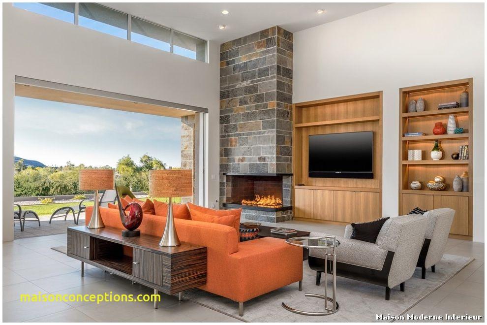 maison moderne interieur salon. Black Bedroom Furniture Sets. Home Design Ideas