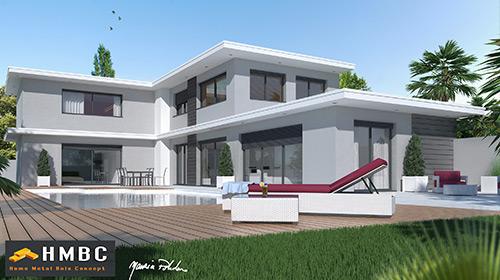 maison moderne isere