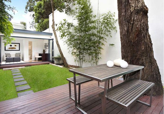 Maison moderne jardin - Decoration jardin moderne ...