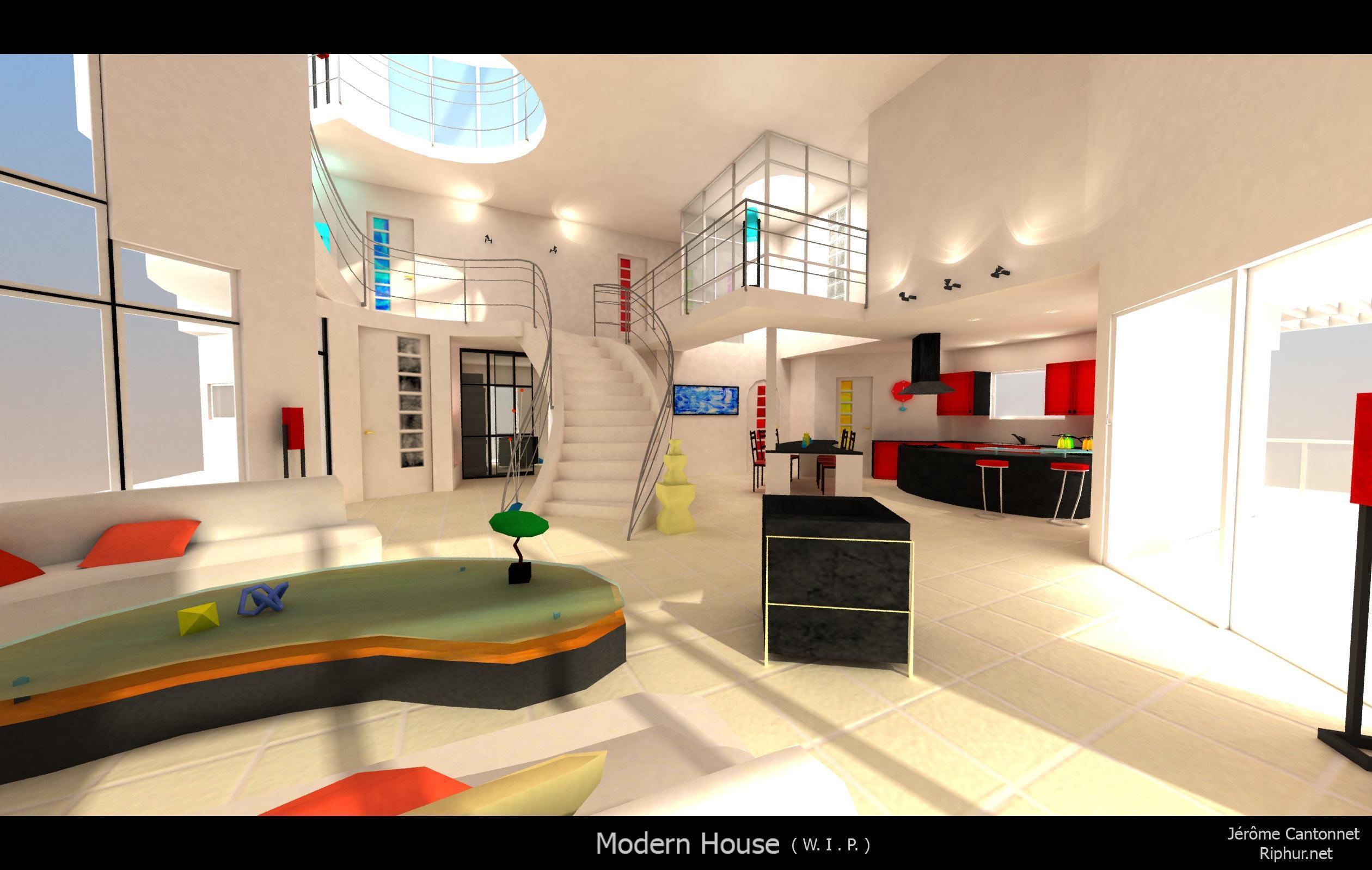 Jeux De Decoration De Maison Moderne | larmoric.com