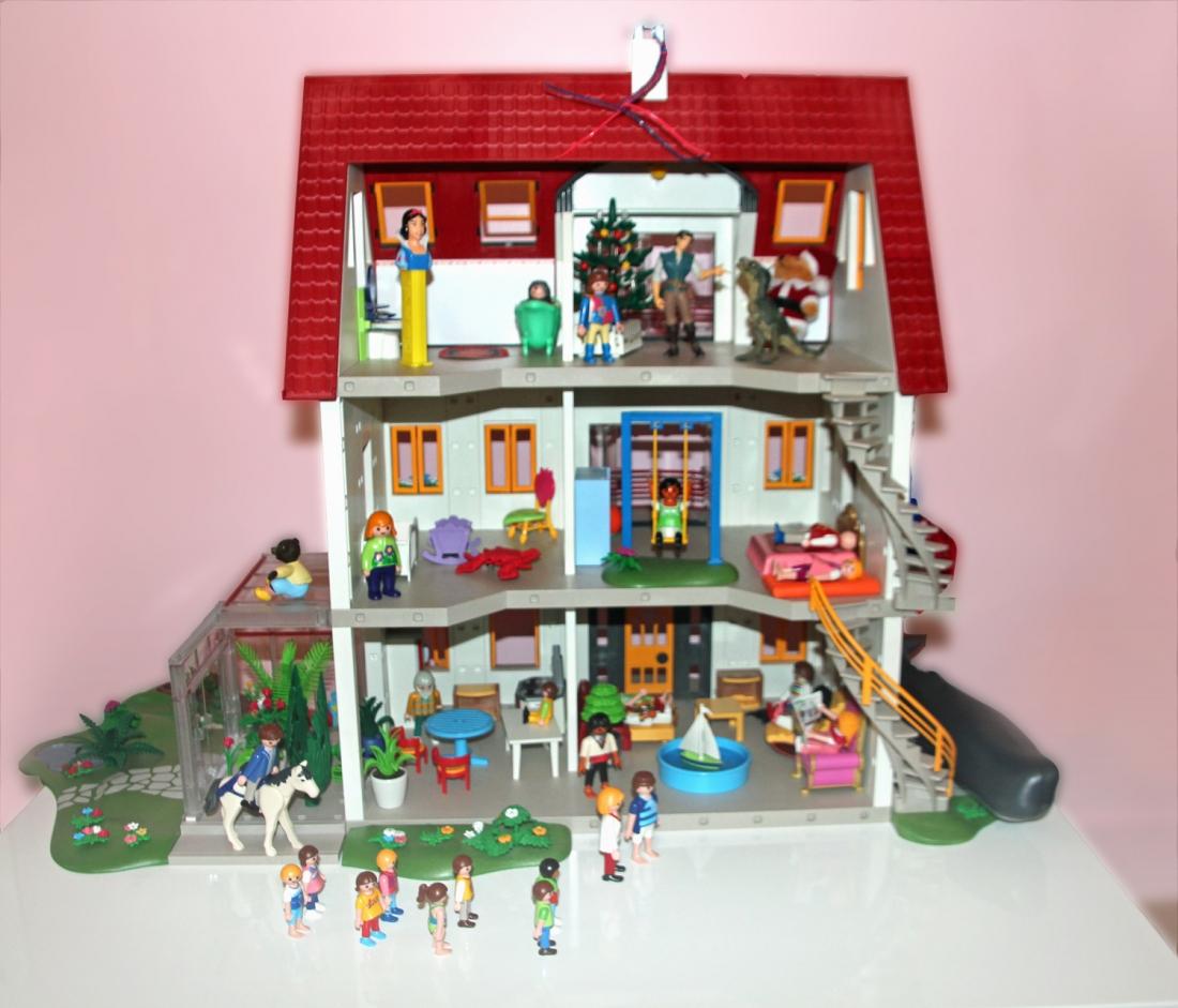 Photo De Maison Moderne Playmobil