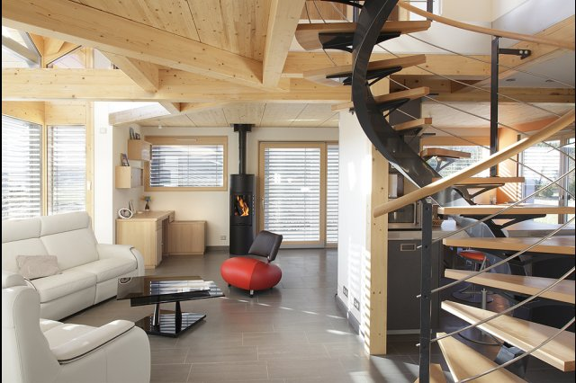 maison moderne jura