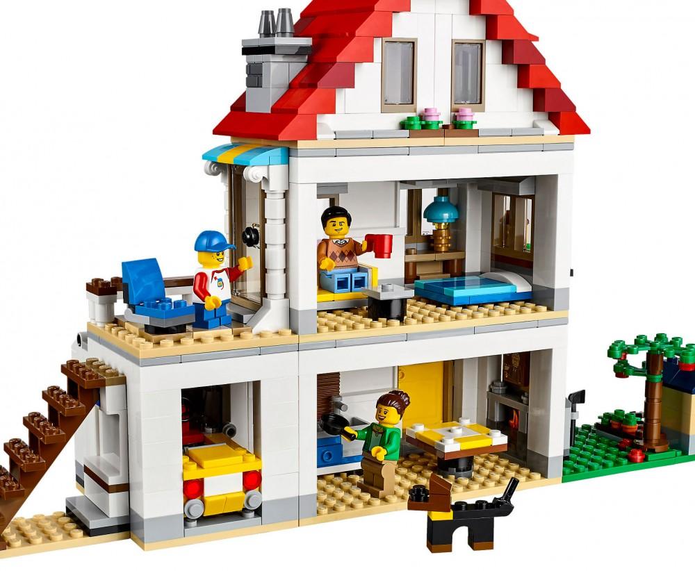 maison moderne lego creator