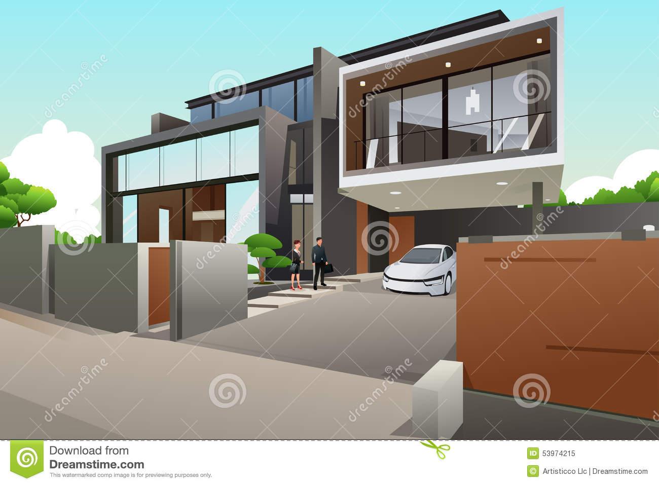 maison moderne mc