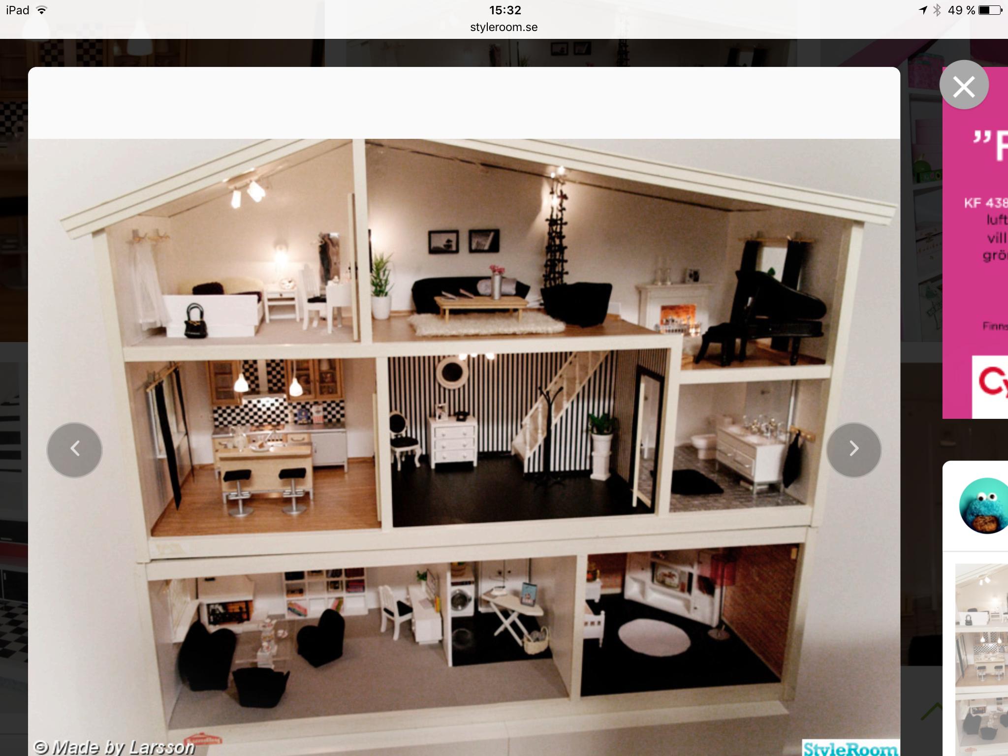 maison moderne miniature