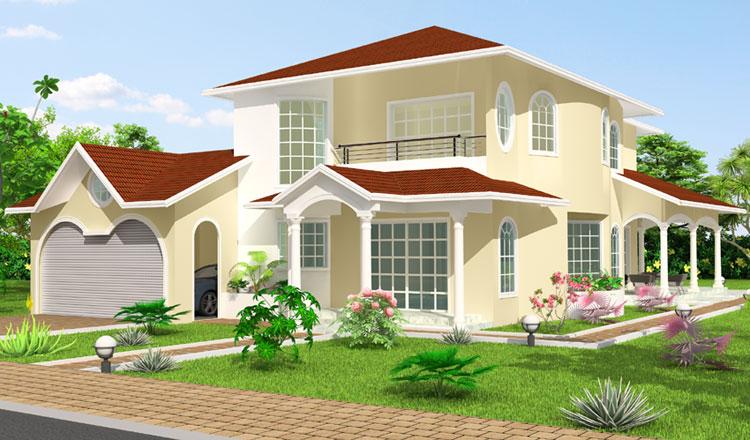 Maison moderne nigeria - Les plus belles architectures de maisons ...